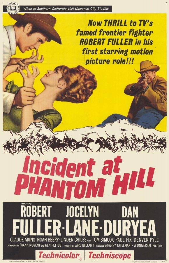 poster Incident at Phantom Hill (1966)