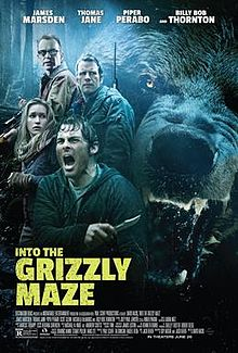 poster Into the Grizzly Maze (2015)
