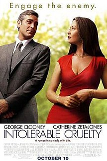 poster Intolerable Cruelty (2003)
