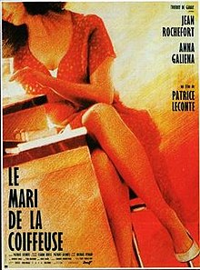 poster Le mari de la coiffeuse (1990)