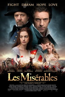 poster Les Miserables (2012)