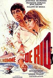 poster L'homme de Rio (1964)