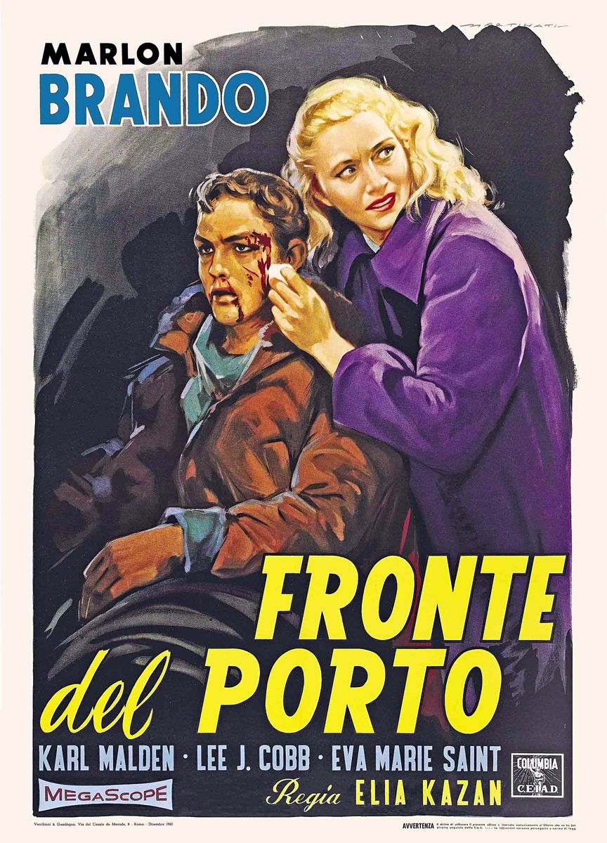 poster On the Waterfront (1954)