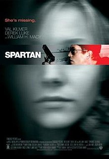 poster Spartan (2004)