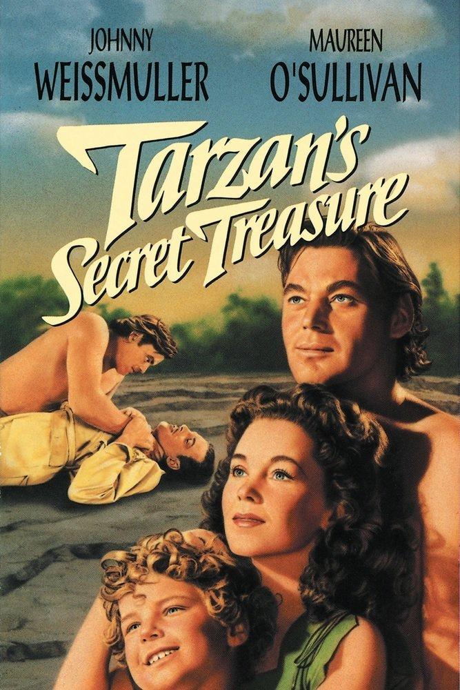 poster Tarzan's Secret Treasure (1941)