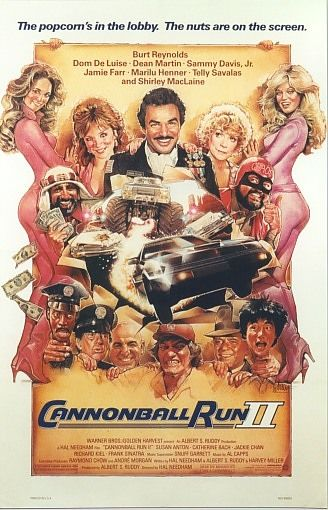 poster The Cannonball Run (1981)