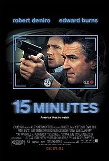 poster 15 Minutes (2001)