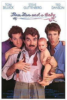 poster 3 Men and a Baby (1987)