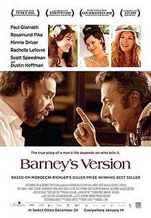poster Barney's Version (2010)