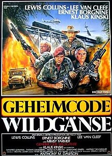 poster Code Name Wild Geese (1984)