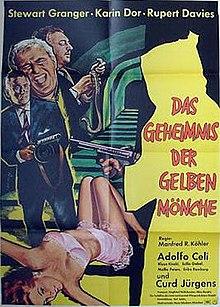 poster Das Geheimnis der gelben Monche - Wie totet man eine Dame (1966)