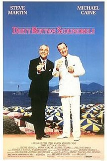 poster Dirty Rotten Scoundrels (1988)