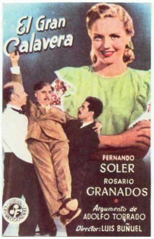 poster El gran calavera (1949)