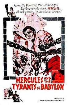 poster Ercole contro i tiranni di Babilonia (1964)