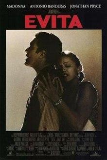 poster Evita (1996)