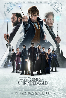 poster Fantastic Beasts The Crimes of Grindelwald (2018)