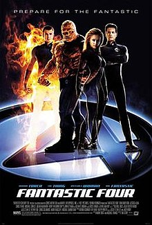 poster Fantastic Four (2005)