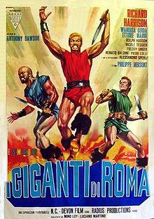 poster I giganti di Roma - Giants of Rome (1964)