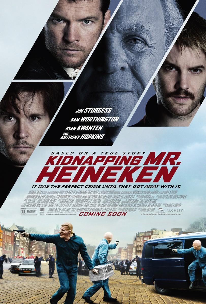 poster Kidnapping Mr. Heineken (2015)