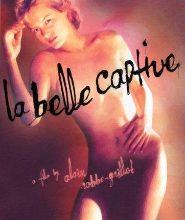 poster La belle captive (1983)