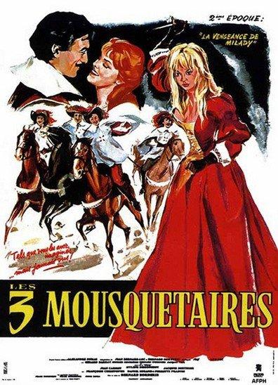 poster Les Trois mousquetaires La vengeance de Milady (1961)