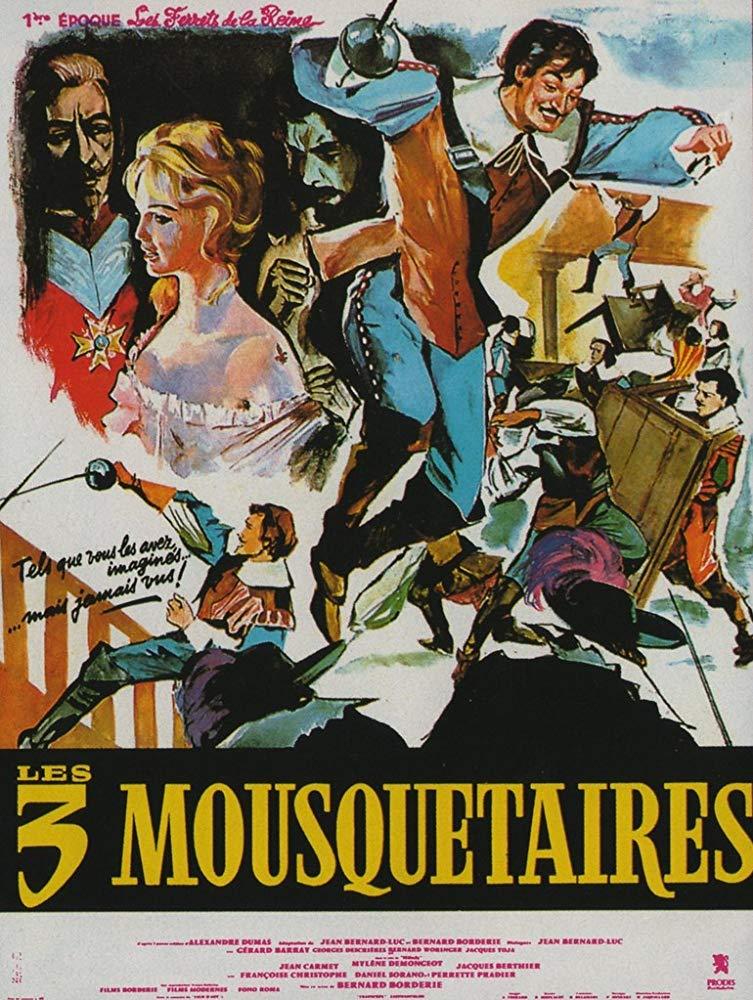 poster Les Trois mousquetaires Les ferrets de la reine (1961)