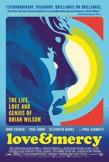 poster Love and Mercy (2014)