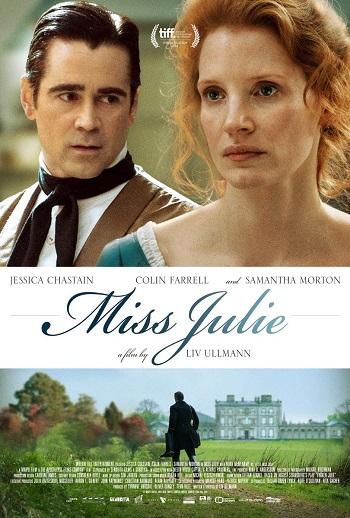 poster Miss Julie (2014)