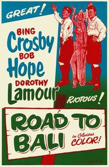 poster Road to Bali (1952)