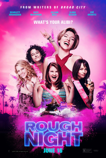 poster Rough Night (2017)