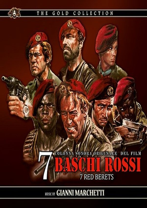 poster Sette baschi rossi (1969)