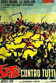 poster Seven Rebel Gladiators (Sette contro tutti) (1965)