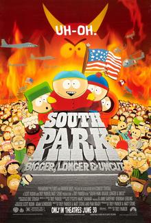 poster South Park Bigger, Longer & Uncut (1999)