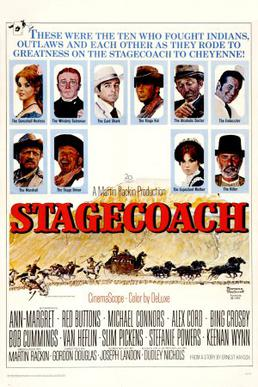 poster Stagecoach (1966)