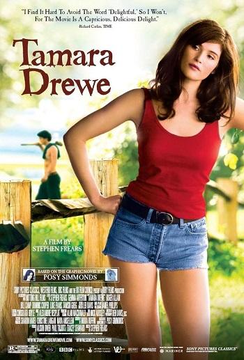 poster Tamara Drewe (2010)
