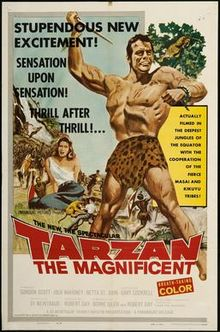 poster Tarzan the Magnificent (1960)