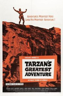poster Tarzan's Greatest Adventure (1959)