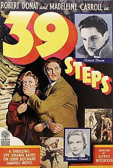 poster The 39 Steps (1935)