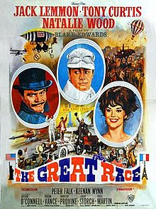 poster The Great Race (1965)