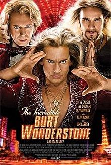 poster The Incredible Burt Wonderstone (2013)