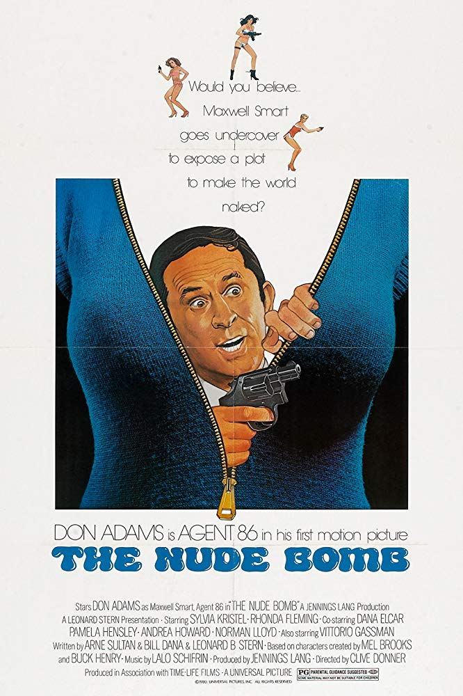poster The Nude Bomb (1980)