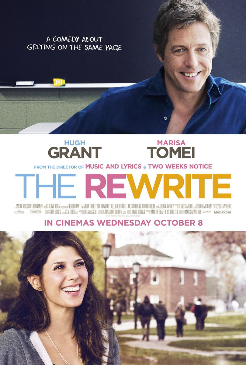 poster The Rewrite (2014)