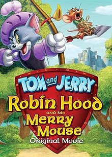 poster Tom and Jerry Robin Hood and His Merry Mouse (Video 2012)