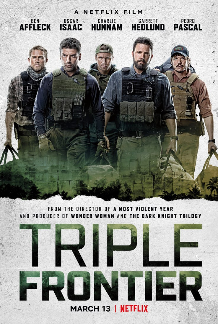 poster Triple Frontier (2019)