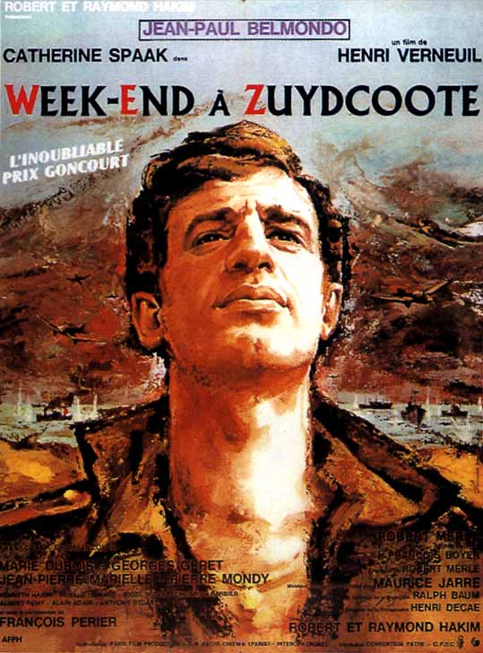 poster Week-end a Zuydcoote - Weekend at Dunkirk (1964)