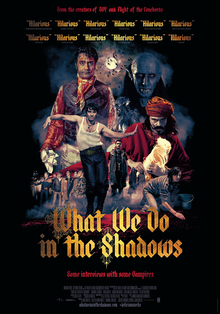 poster What We Do in the Shadows (2014)