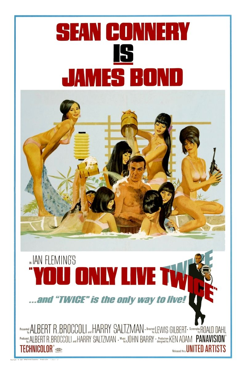 poster You Only Live Twice (1967)