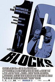 poster 16 Blocks (2006)
