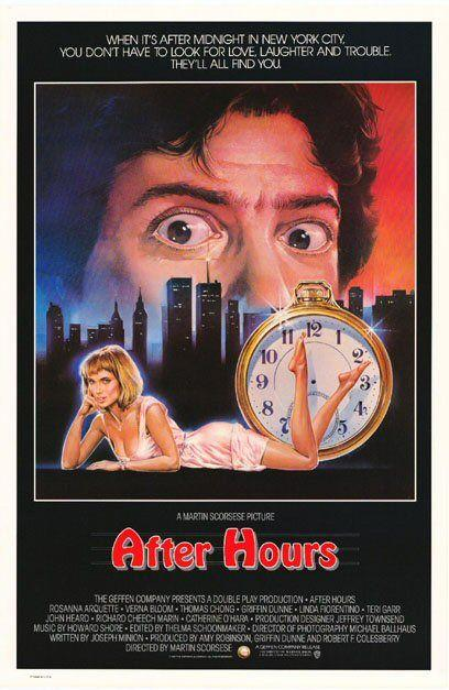 poster After Hours (1985)
