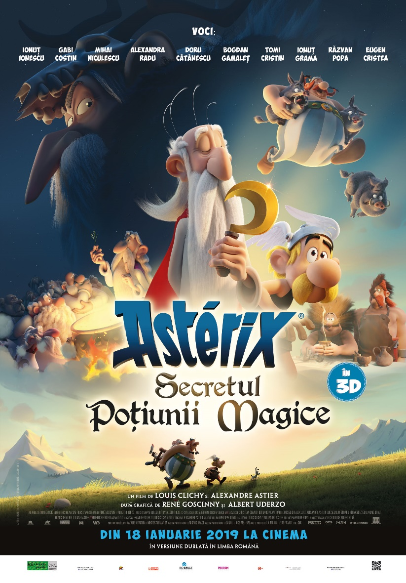 poster Asterix Le secret de la potion magique (2018)
